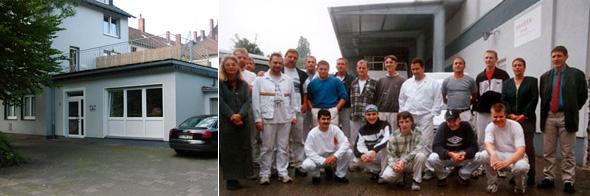 Malerbetrieb in Bochum im Ruhrgebiet
